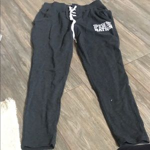 PINK NATION SWEATPANTS